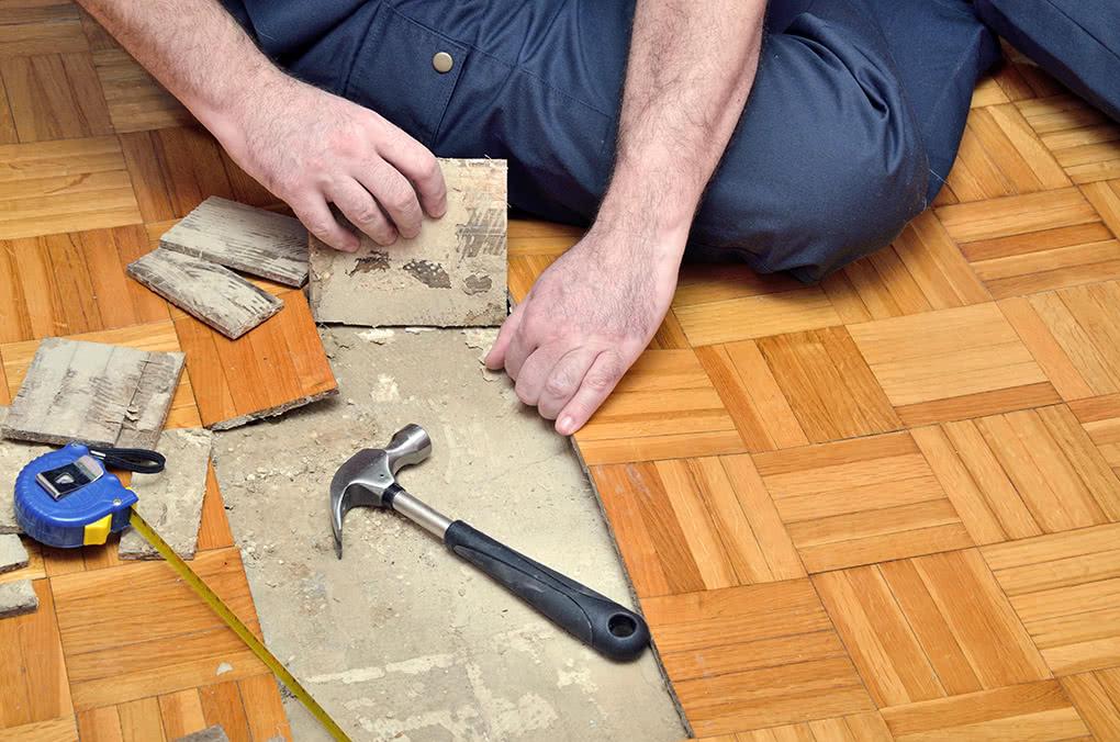 Bodenbelag entfernen